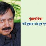 গুচ্ছকবিতা || সাইফুল্লাহ মাহমুদ দুলাল